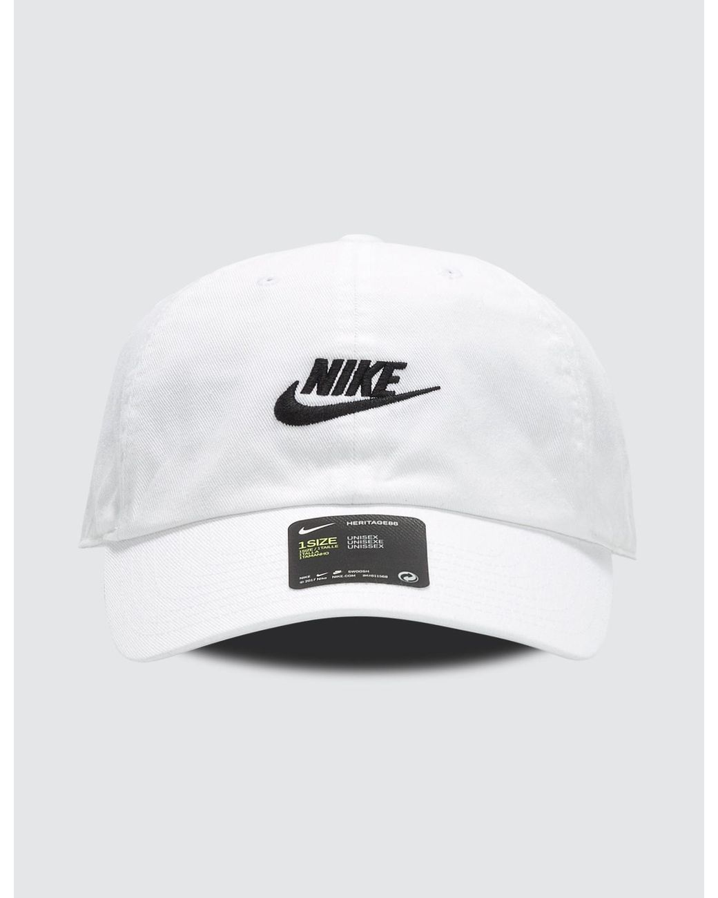 7c2fee85 Lyst - Nike H86 Futura Washed Cap in White for Men
