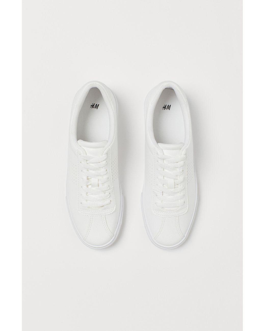 H\u0026M Sneakers in White - Lyst