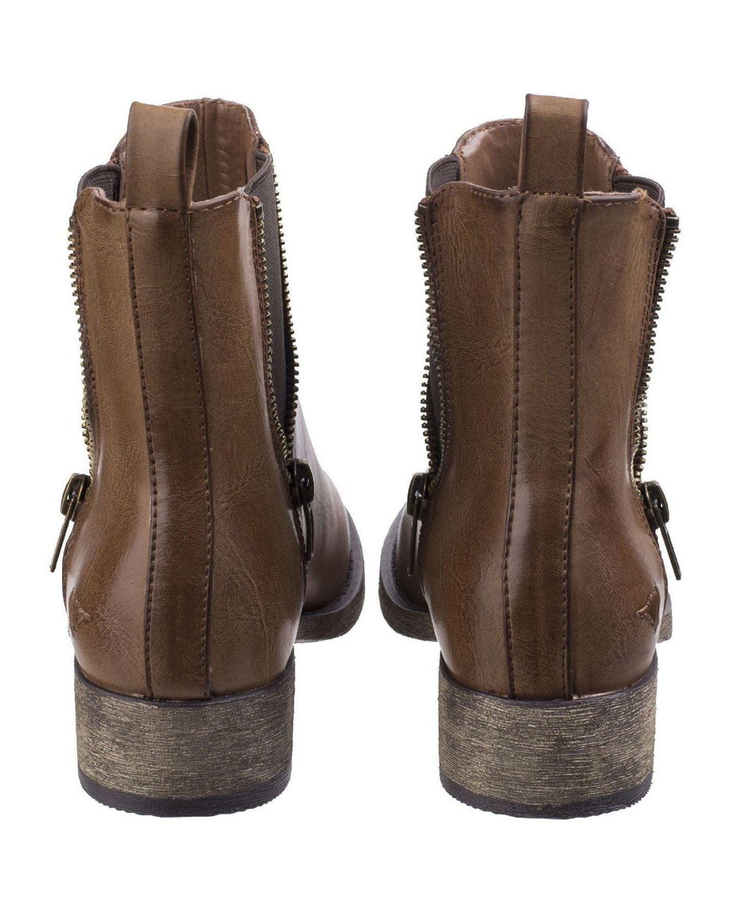 Rocket Dog CAMILLA Ladies Womens Dual Gusset Comfort High Ankle Chelsea Boots