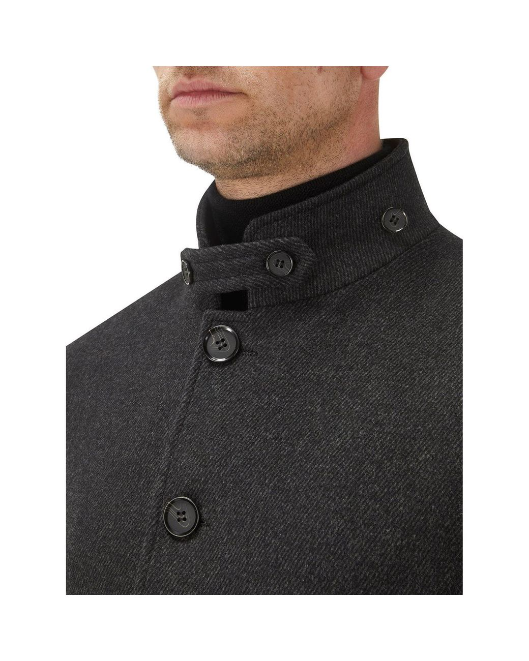 Ledbury SKOPES Mens Big Size Cotton Blend Shower Proof Raincoat