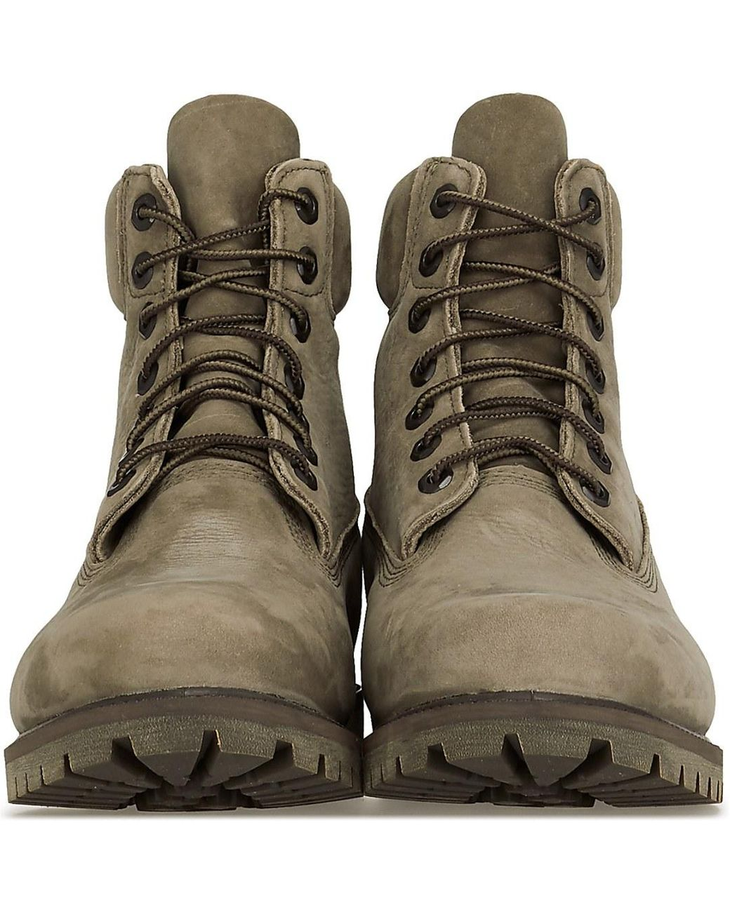 rutina autopista Culpable  Timberland Leather Heritage 6 Inch Boots in Olive (Green) for Men - Lyst