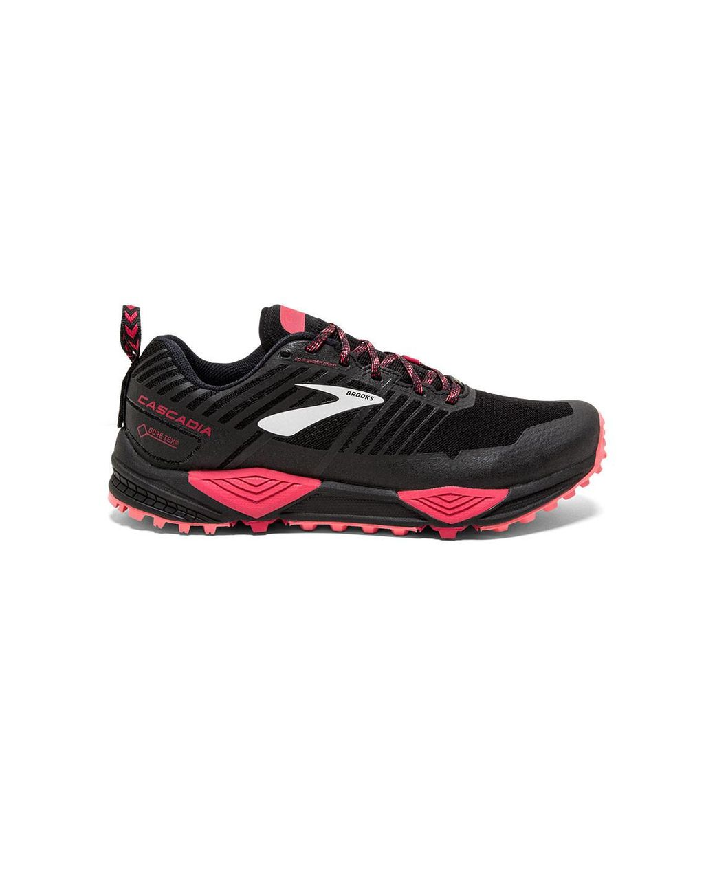 97502e90e92 Long-Touch to Zoom. Long-Touch to Zoom. 1  2  3  4  5  6. Brooks - Black  Cascadia 13 Gtx Trail Running Shoe - Lyst ...