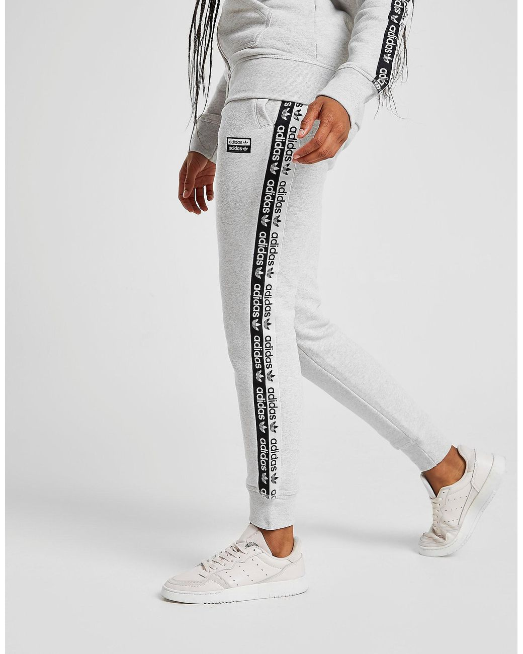 Pantalon de Survêtement Polaire Tape Femme adidas Originals