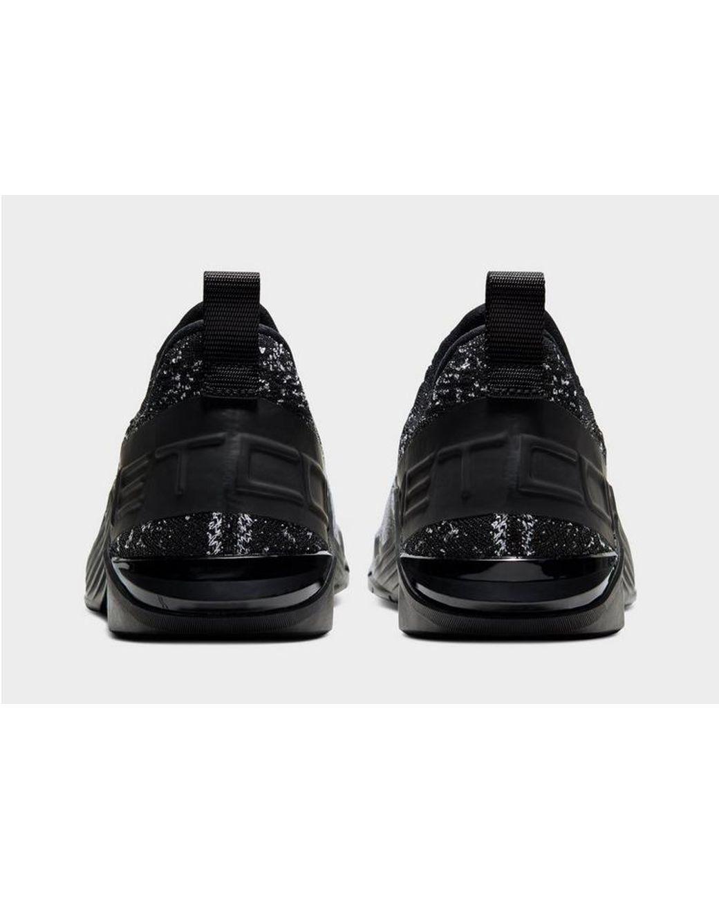 Nike Synthetic React Metcon Flyknit 4 in Black for Men Lyst