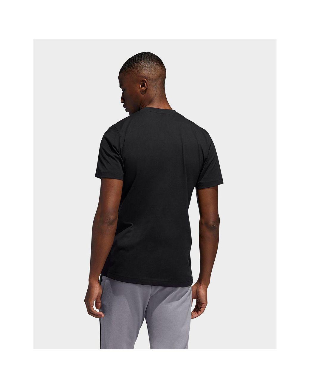 hieno tyyli halvin hinta pistorasia adidas Originals Cotton Donovan Mitchell Logo T-shirt in ...