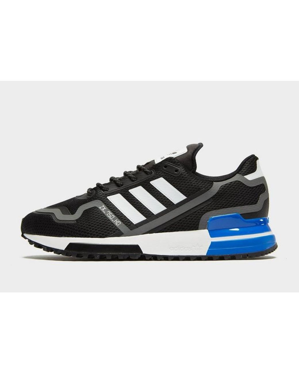 adidas zx 750 trainers black-green-yellow-red