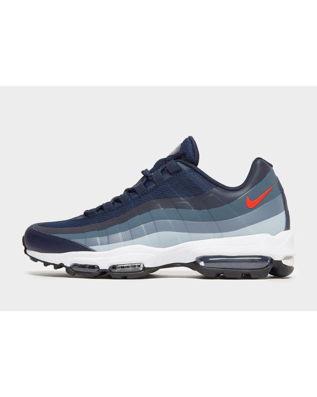 on sale 8e184 3f23f Nike. Men s Blue Air Max 95 Ultra Se.  175 From JD Sports