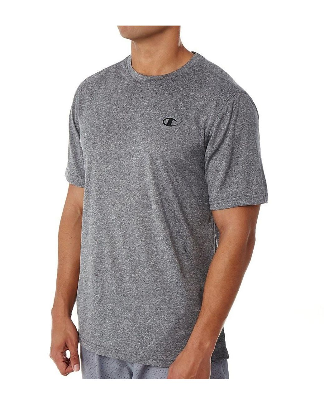 afe8a39d Champion T0766 Fresh Iq Vapor Heather Performance Tee (stealth Heather S)  in Gray for Men - Save 17% - Lyst