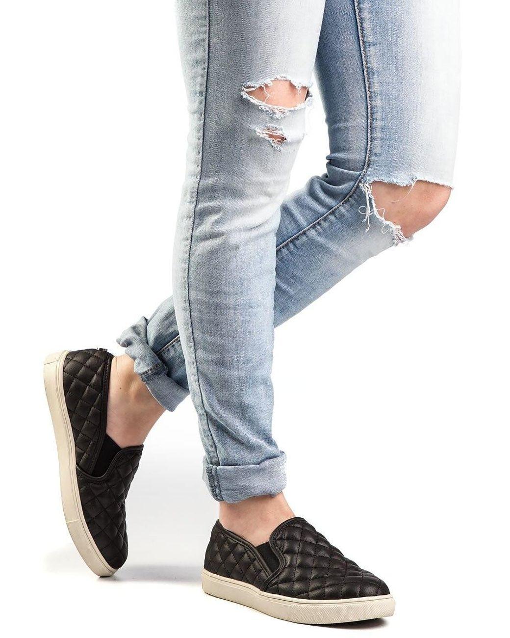 Steve Madden Ecentrcq Sneaker Black
