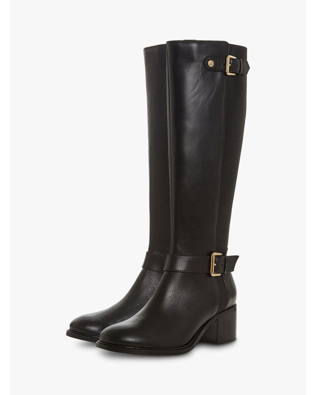 Dune Leather Tildaa Knee High Boots in