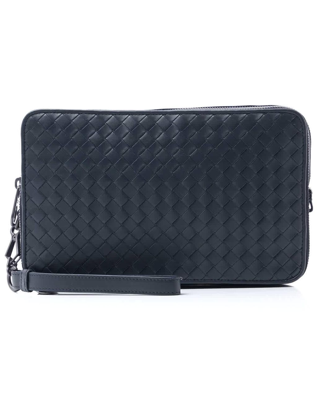 bra kvalitet kupongskod bäst Bottega Veneta Leather Mens Multi-functional Case In Dark Blue for ...