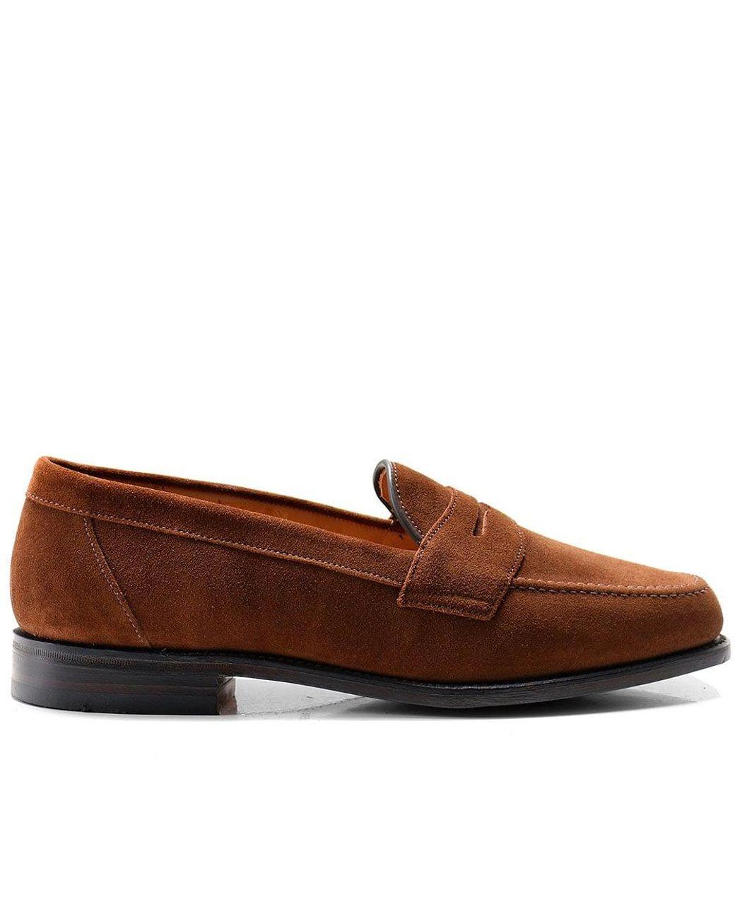 Homme Coloris Eton Loafers De Marron Saddle Suede eYWbEH2D9I