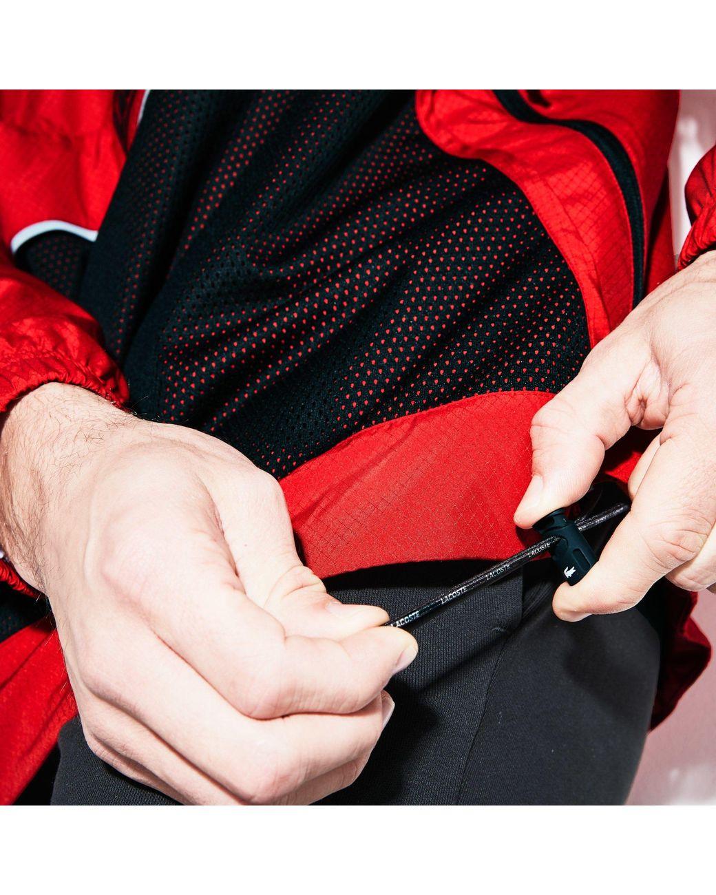 df152762ac Men's Red Sport Water-resistant Windbreaker