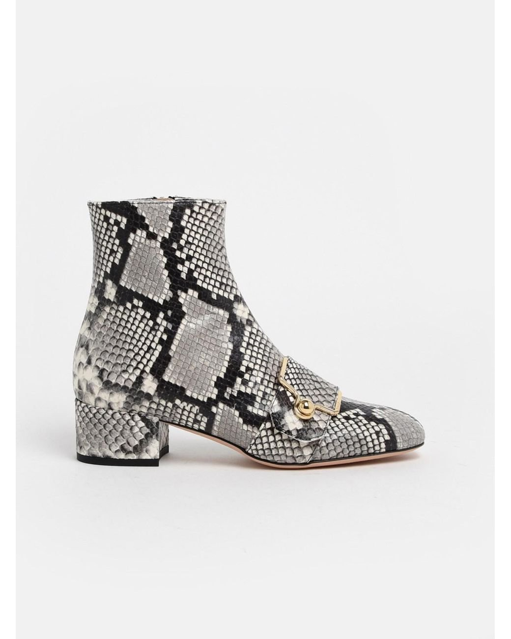 Snake print MAGGYE Ankle Boots