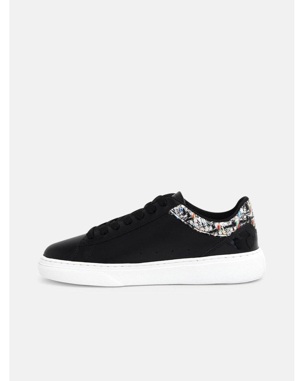Hogan Sneakers H365 Fiori Nere in Black - Lyst