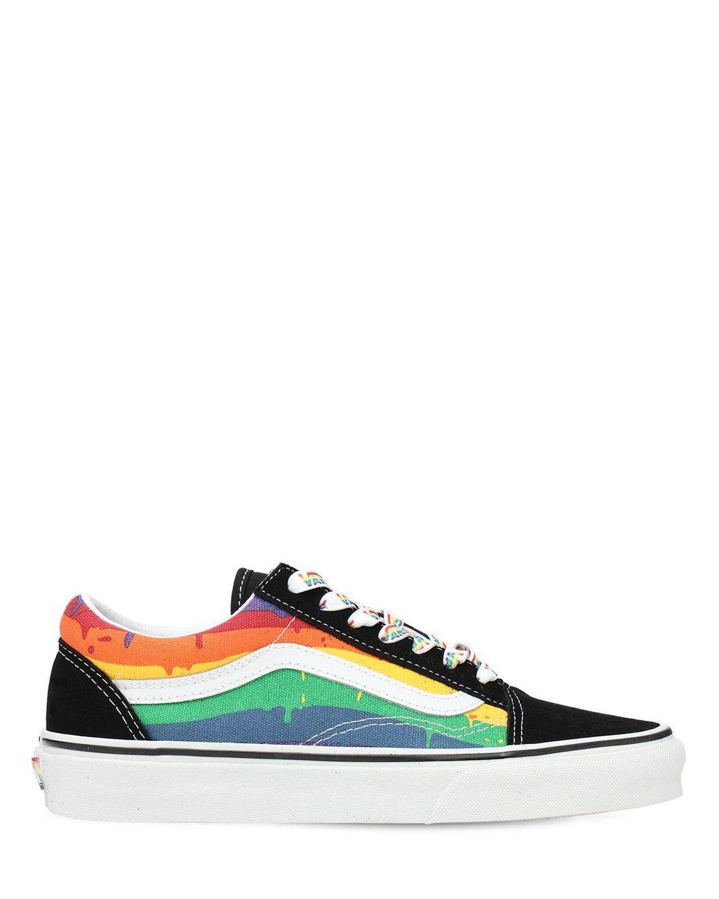 Sneakers À Semelle Arc-en-ciel