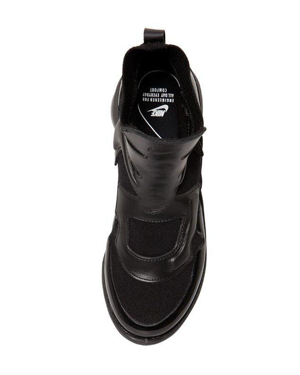99b9f9a8e7b2a Lyst - Nike Vapormax Light Ii Hi-top Sneakers in Black - Save 6%