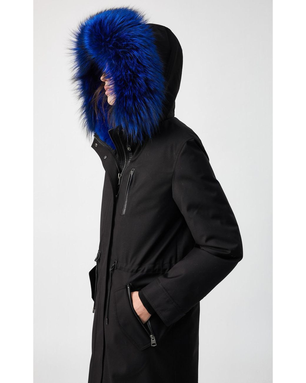 Missoni Home bathrobe with VIRGINIO hood pullover effect