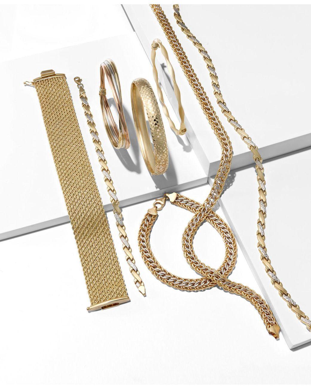 1//4 Ct Diamant Scottie Chien Pendentif en 10K Deux-Tone Gold