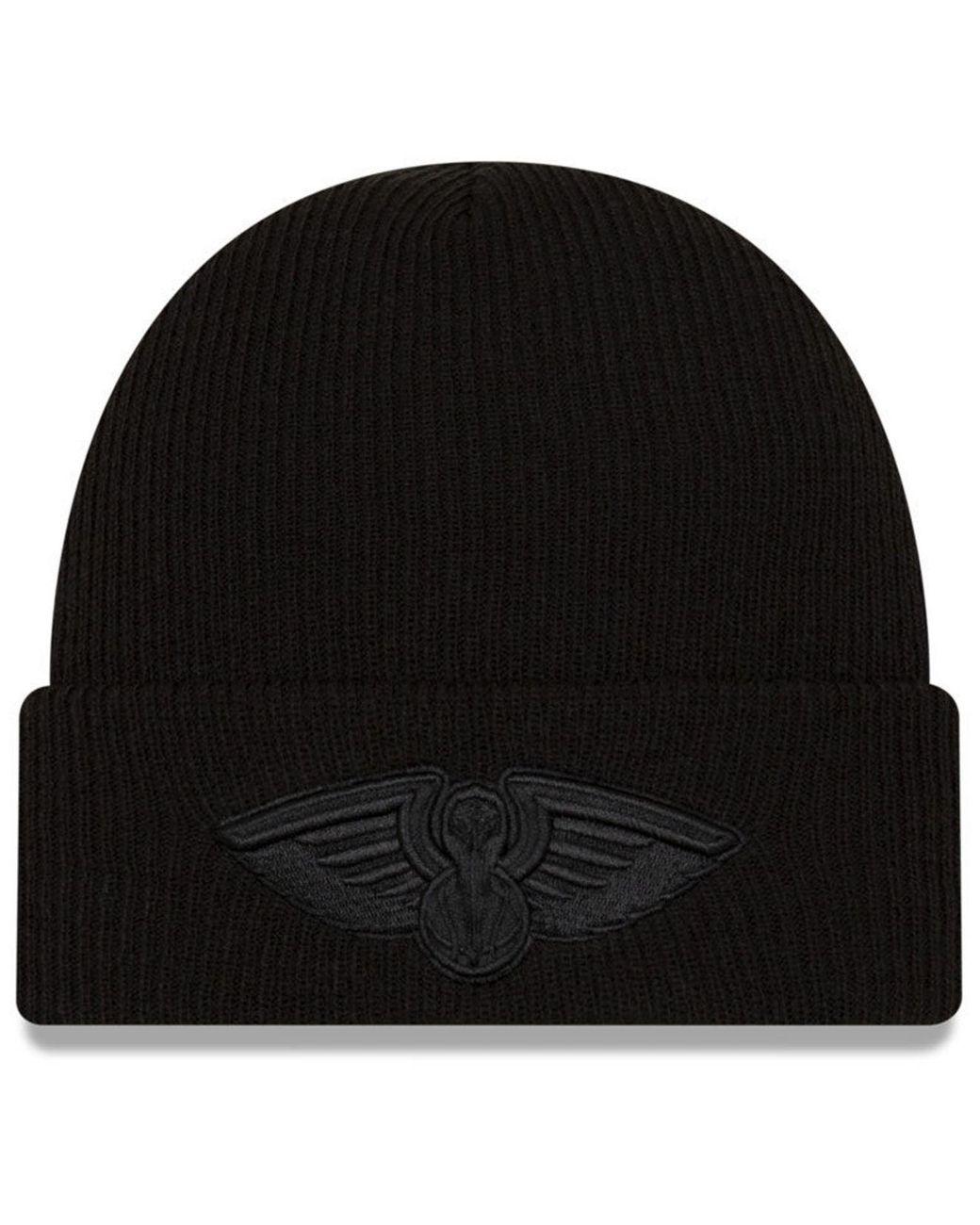 New Orleans Pelicans Blackout Knit Hat