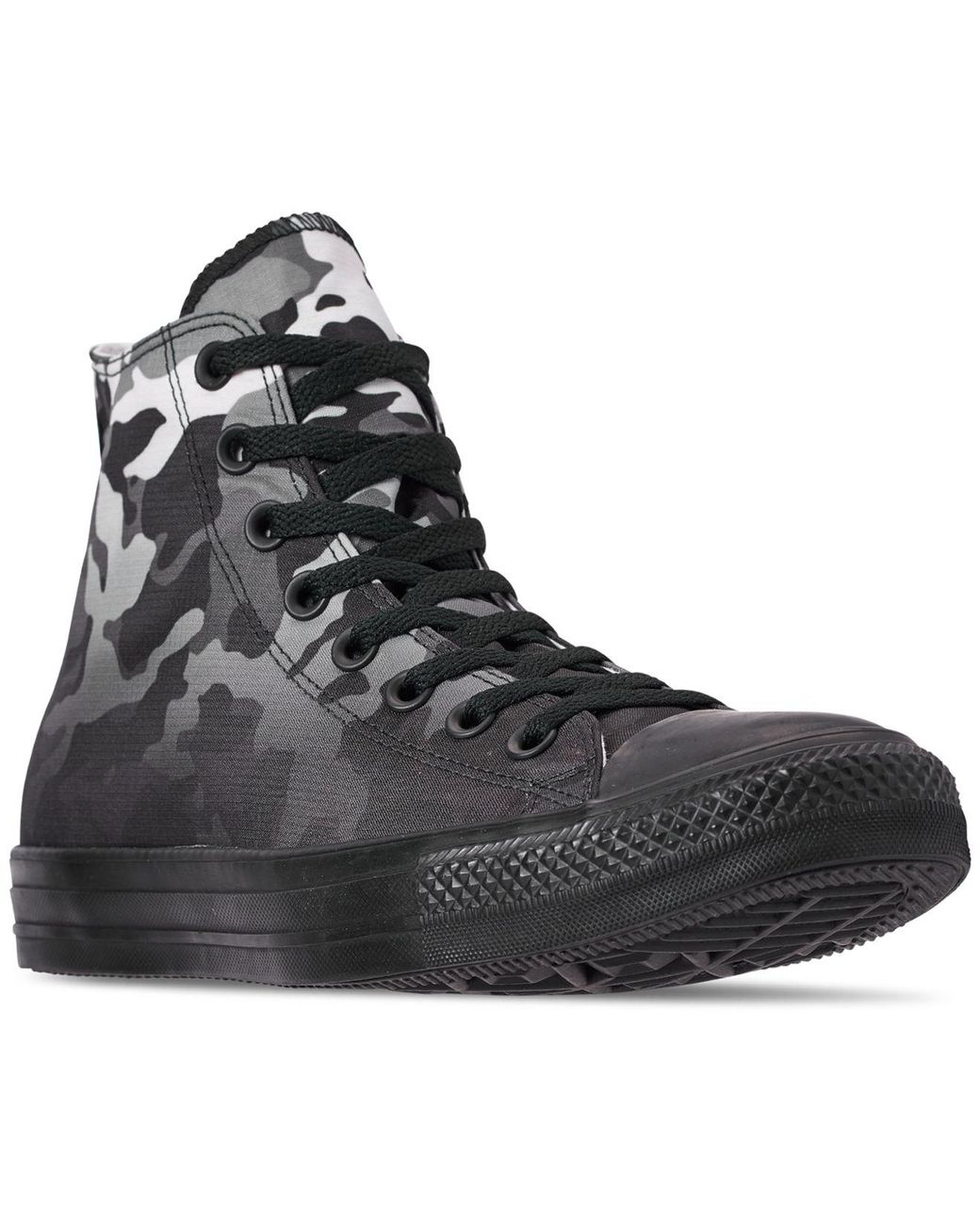 04d851be9959 Lyst - Converse Chuck Taylor All Star Gradient Camo High Top Casual Sneakers  From Finish Line in Black for Men - Save 38%