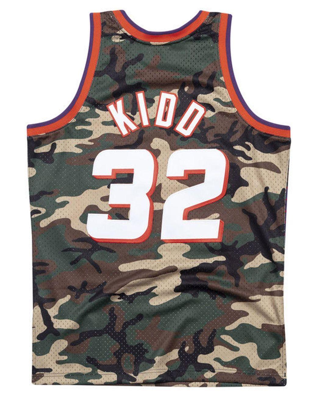 promo code 7672b a08c4 Men's Jersey Jason Kidd Phoenix Suns Woodland Camo Swingman