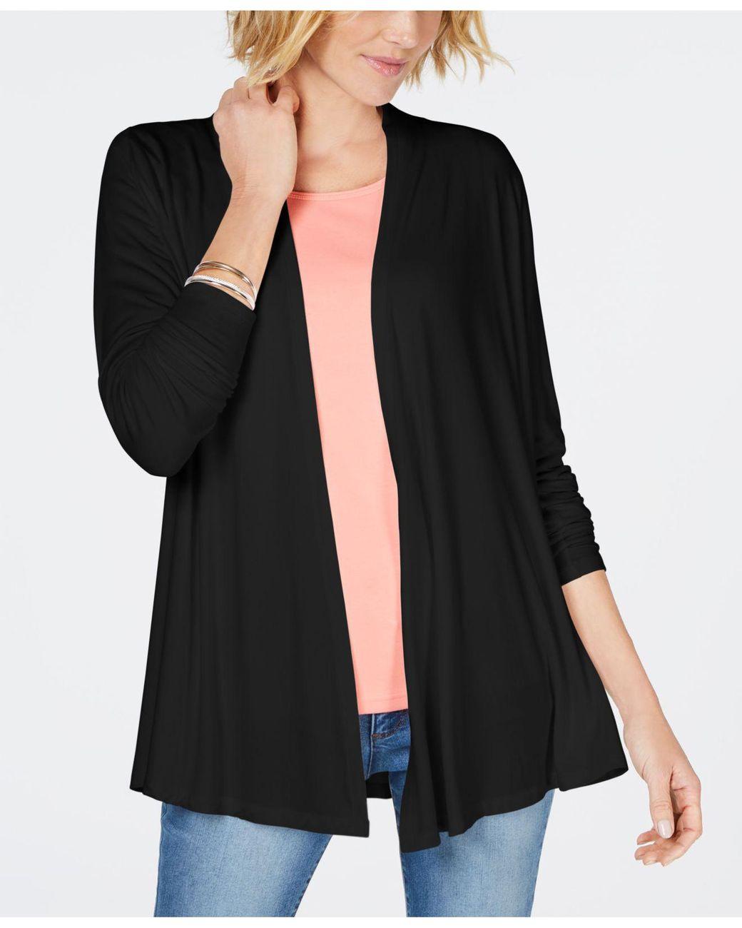 25/% off 1 size $36 MSRP Women/'s STYLE /& Co by MACYS Black Flannel Gloves