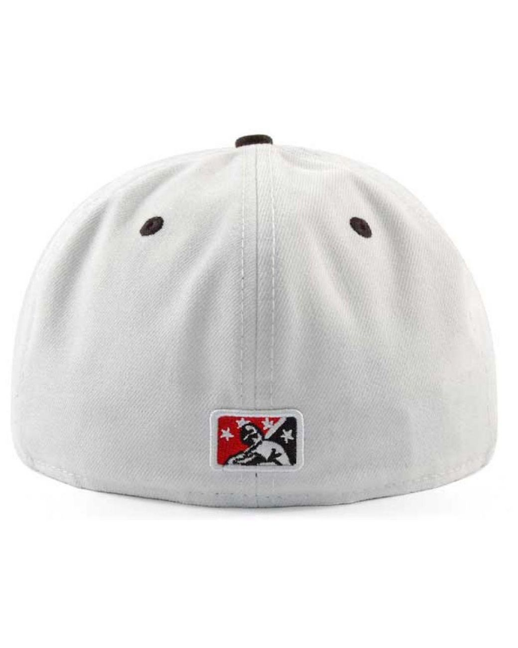 separation shoes beba7 0dd48 KTZ Carolina Mudcats Ac 59fifty Fitted Cap in White for Men - Lyst