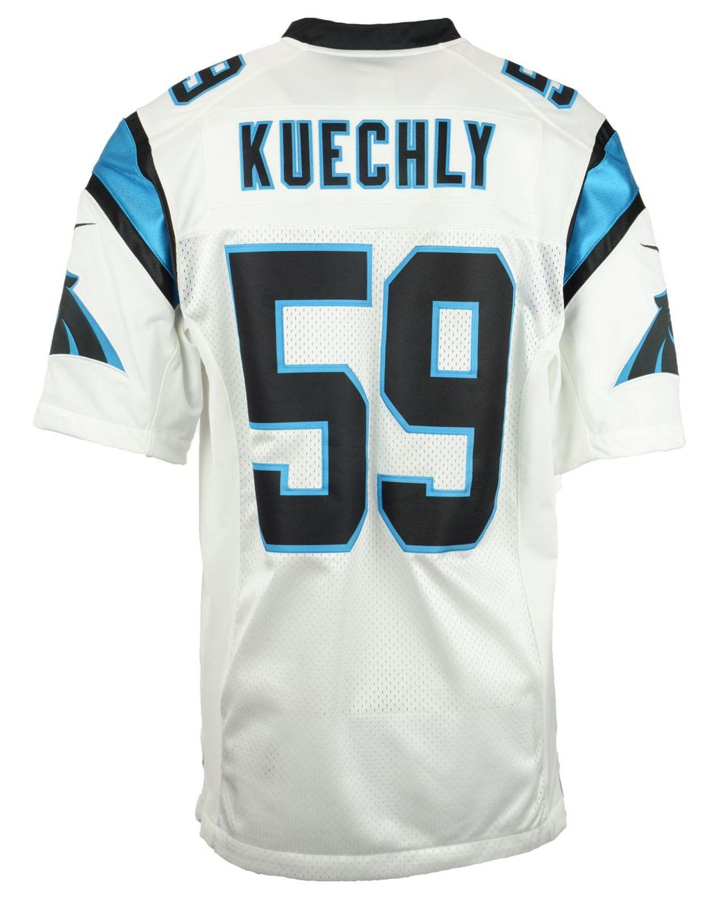 cheap for discount 42d83 7987f White Men's Luke Kuechly Carolina Panthers Limited Jersey