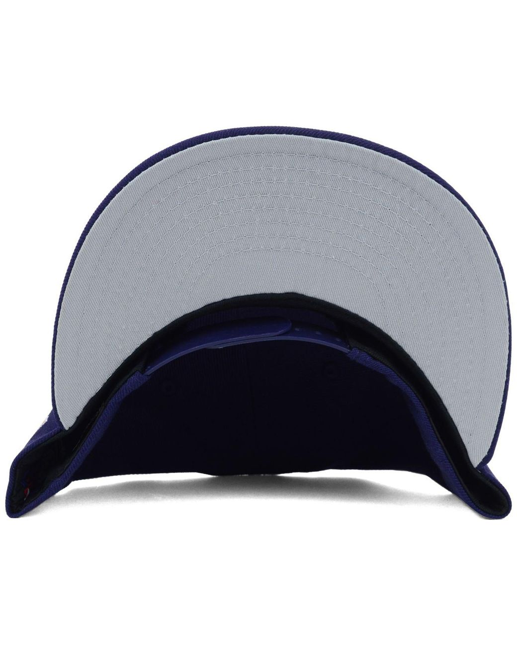 better official really cheap KTZ Wool Milwaukee Brewers Mlb 2 Tone Link 9fifty Snapback Cap in ...