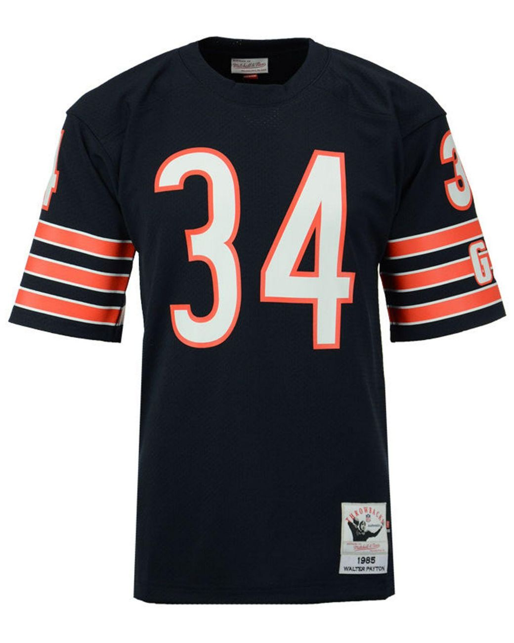 best sneakers 46452 e843a orange walter payton jersey