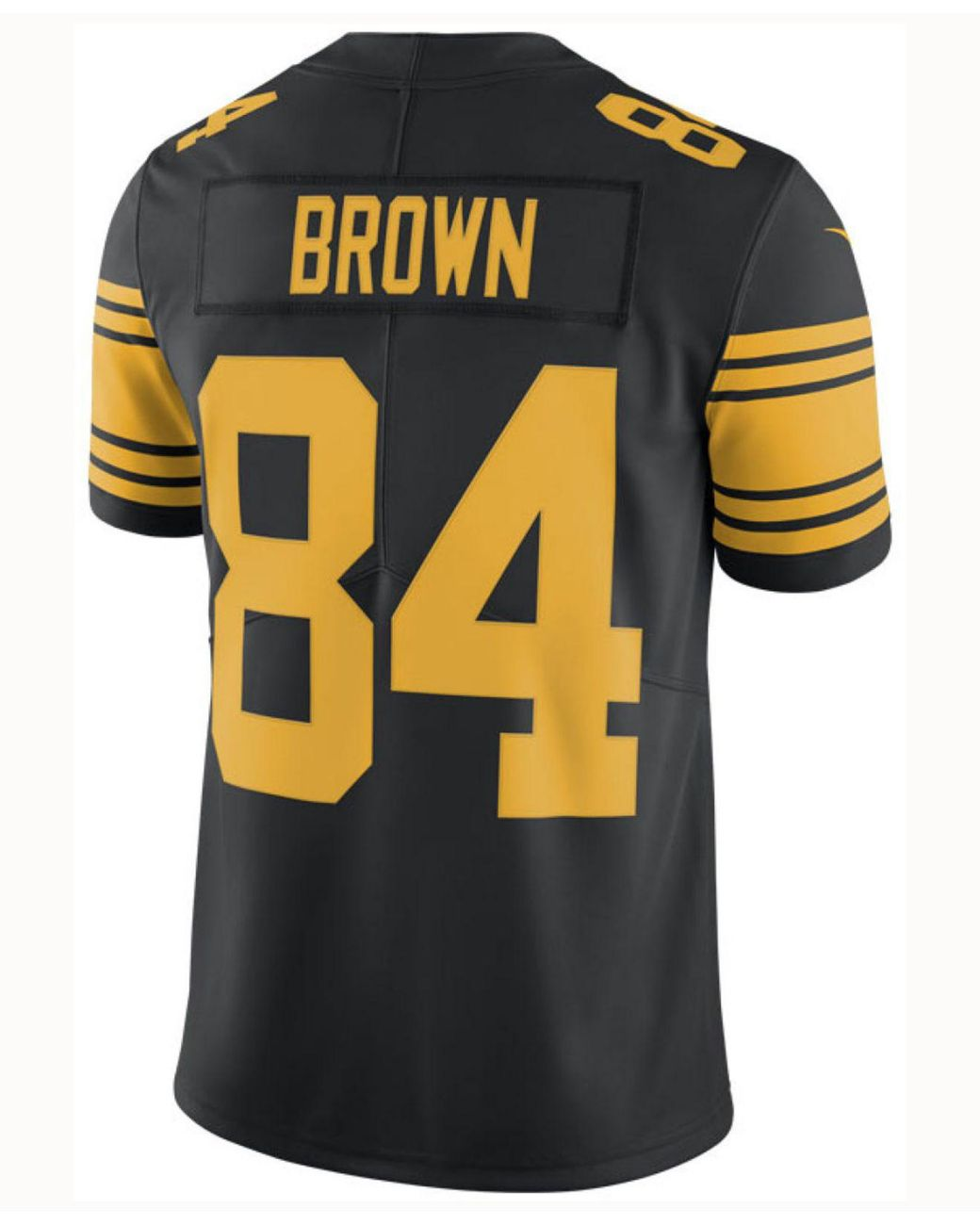 big sale 16517 e93f5 Men's Black Antonio Brown Pittsburgh Steelers Limited Color Rush Jersey