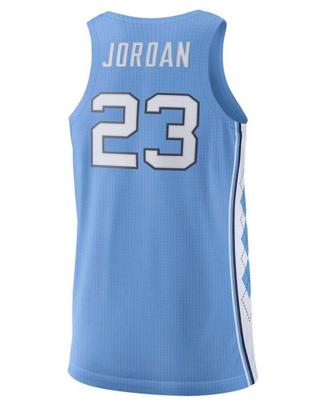 lowest price 65f0f 8197b Men's Blue Michael Jordan North Carolina Tar Heels Authentic Basketball  Jersey