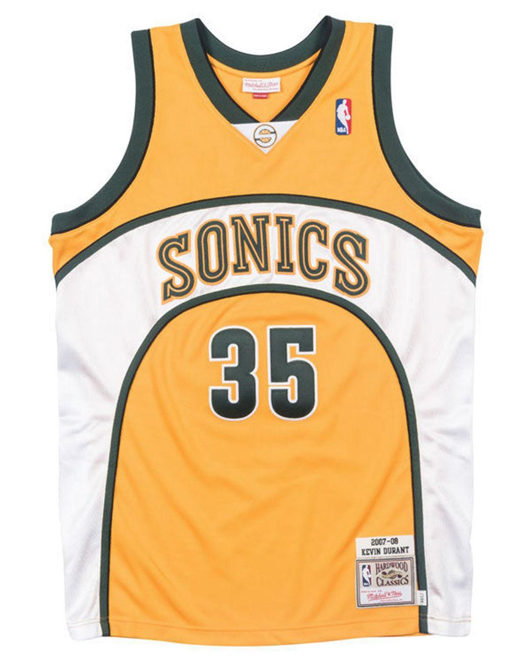 premium selection 585c5 732da Men's Metallic Kevin Durant Seattle Supersonics Authentic Jersey