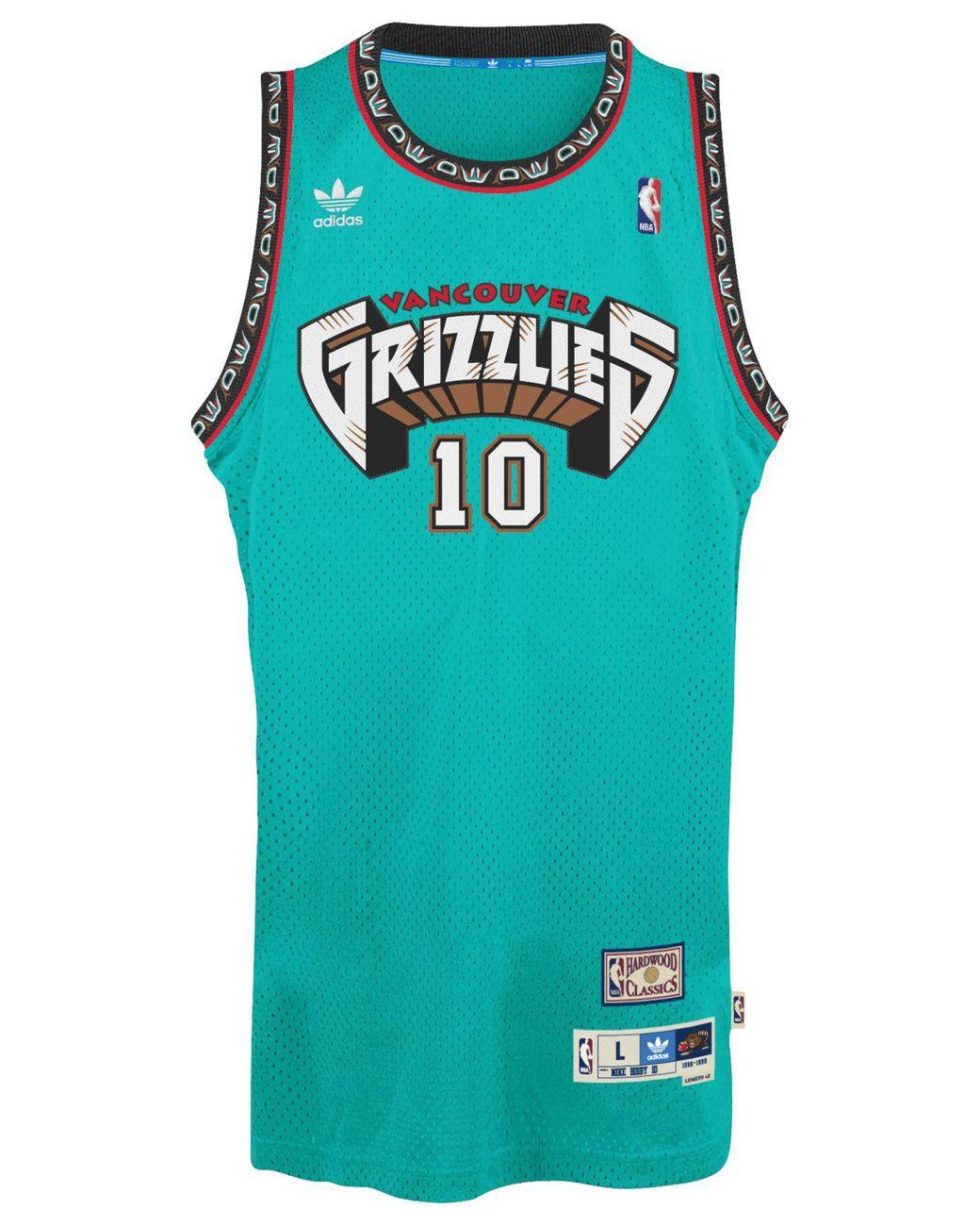premium selection afff0 b2f52 Blue Men's Mike Bibby Vancouver Grizzlies Swingman Jersey