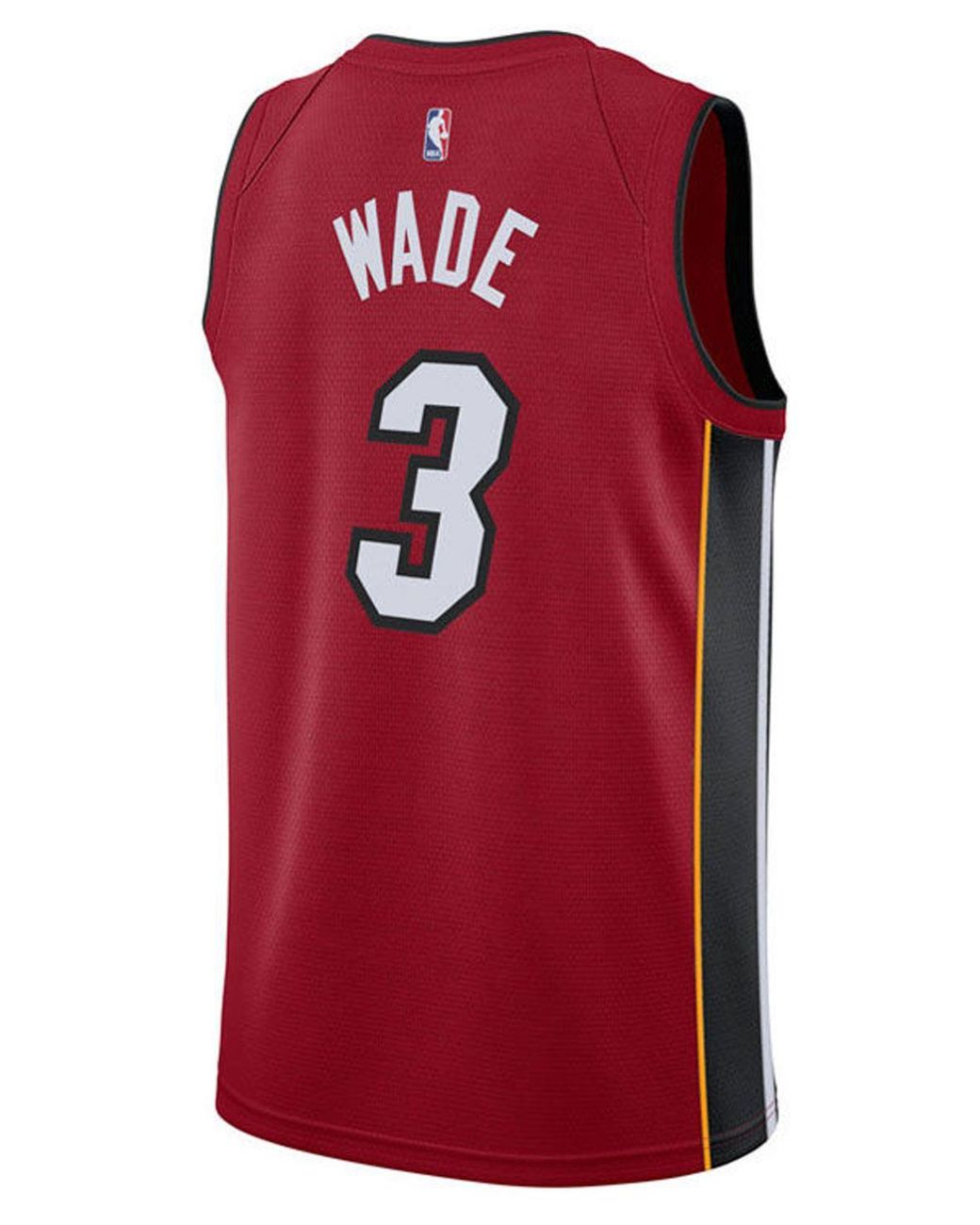 sale retailer c90a4 49201 Red Dwyane Wade Miami Heat Statement Swingman Jersey