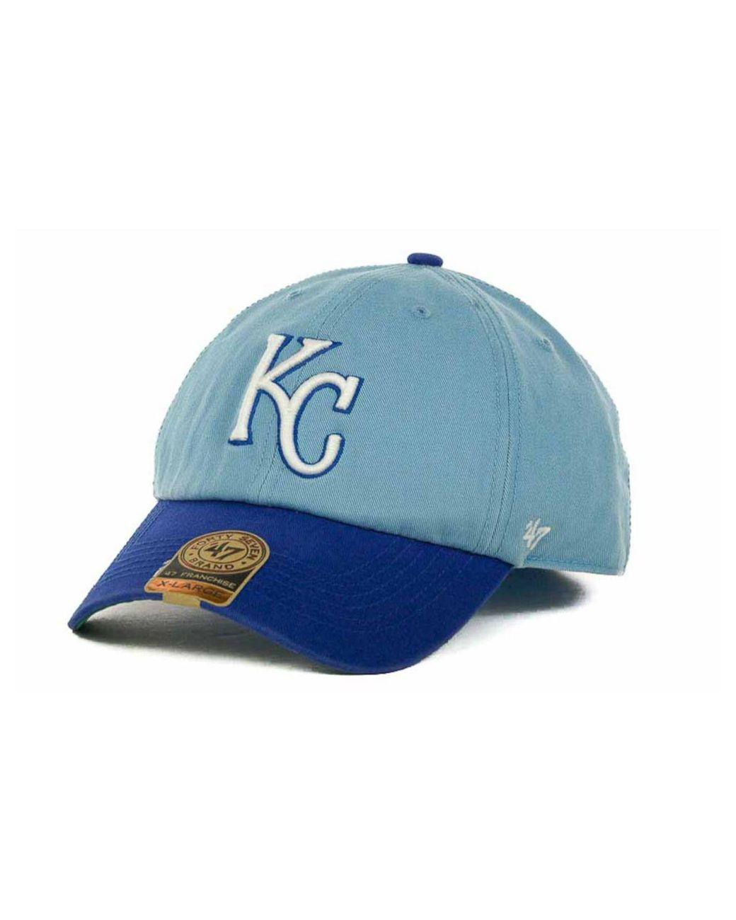 half off 80ecd bea9c 47 Brand. Men s Green Kansas City Royals Mlb  47 Franchise Cap