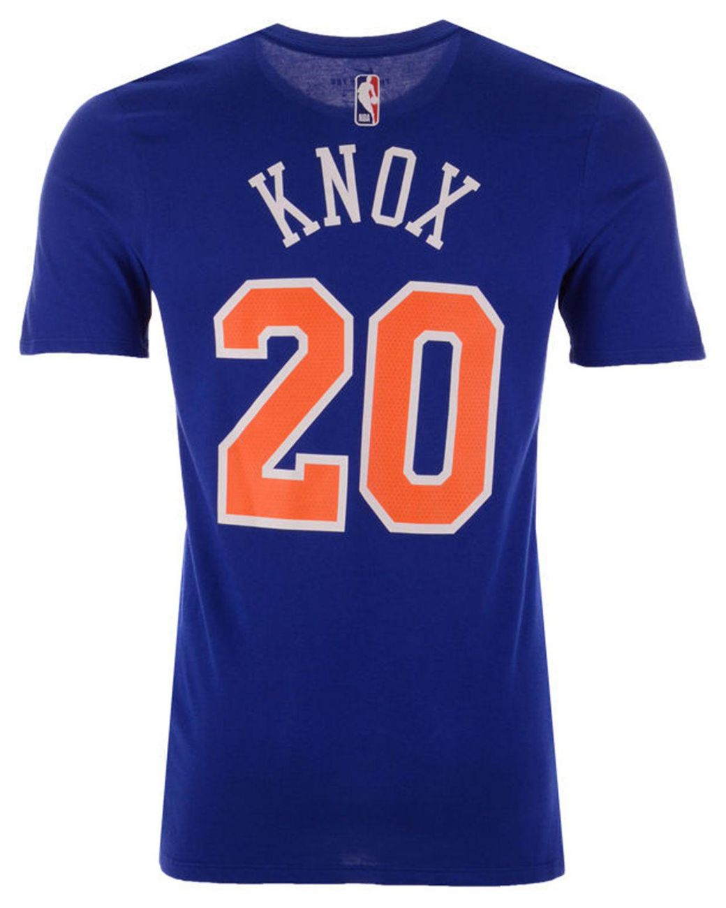 uk availability c5e93 dce0b Men's Blue Kevin Knox New York Knicks Icon Player T-shirt