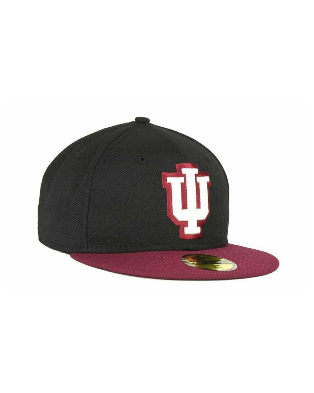 quality design best prices popular brand KTZ Wool Indiana Hoosiers 2 Tone 59fifty Cap in Black/Crimson ...