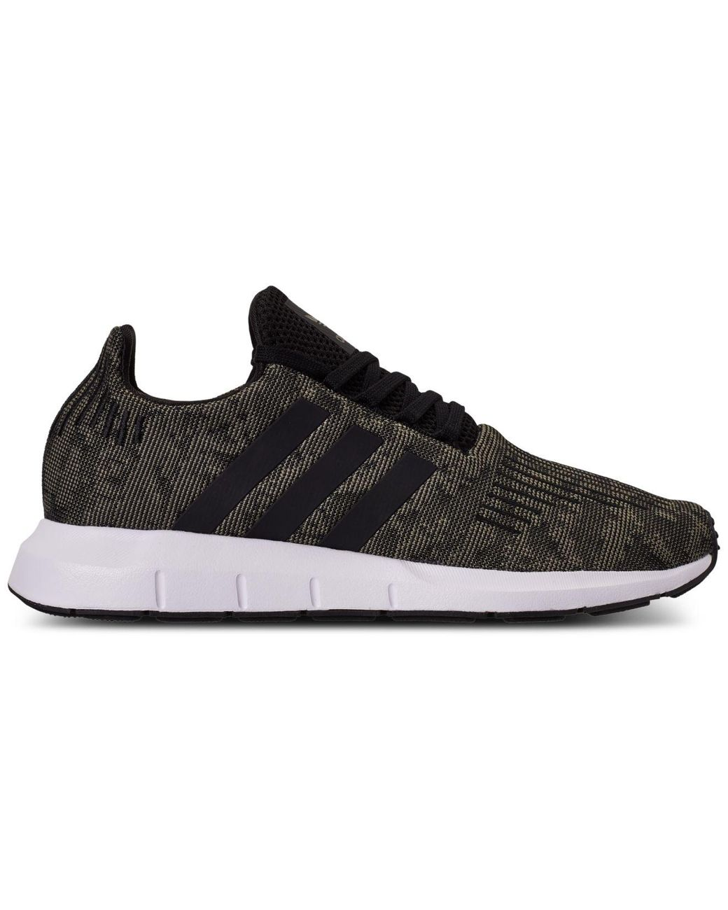 Men's Black Swift Run Casual Sneakers From Finish Line