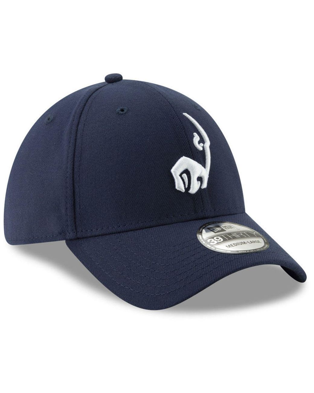 ba39aa56 Women's Blue Los Angeles Rams Logo Elements Collection 39thirty Cap