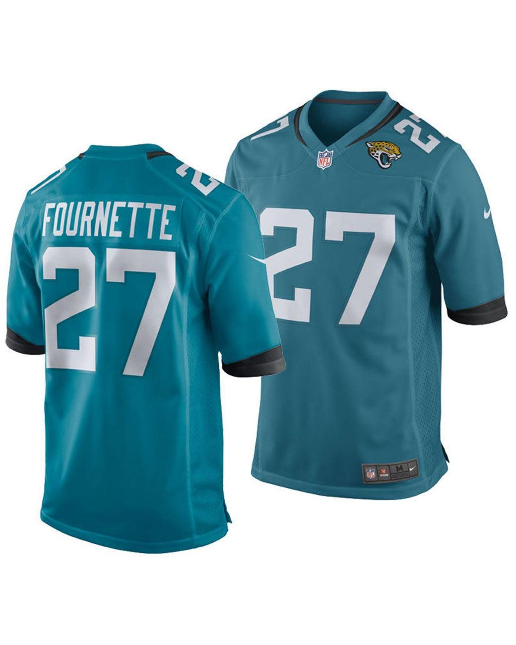 reputable site cd771 3c2a1 Men's Blue Leonard Fournette Jacksonville Jaguars Game Jersey