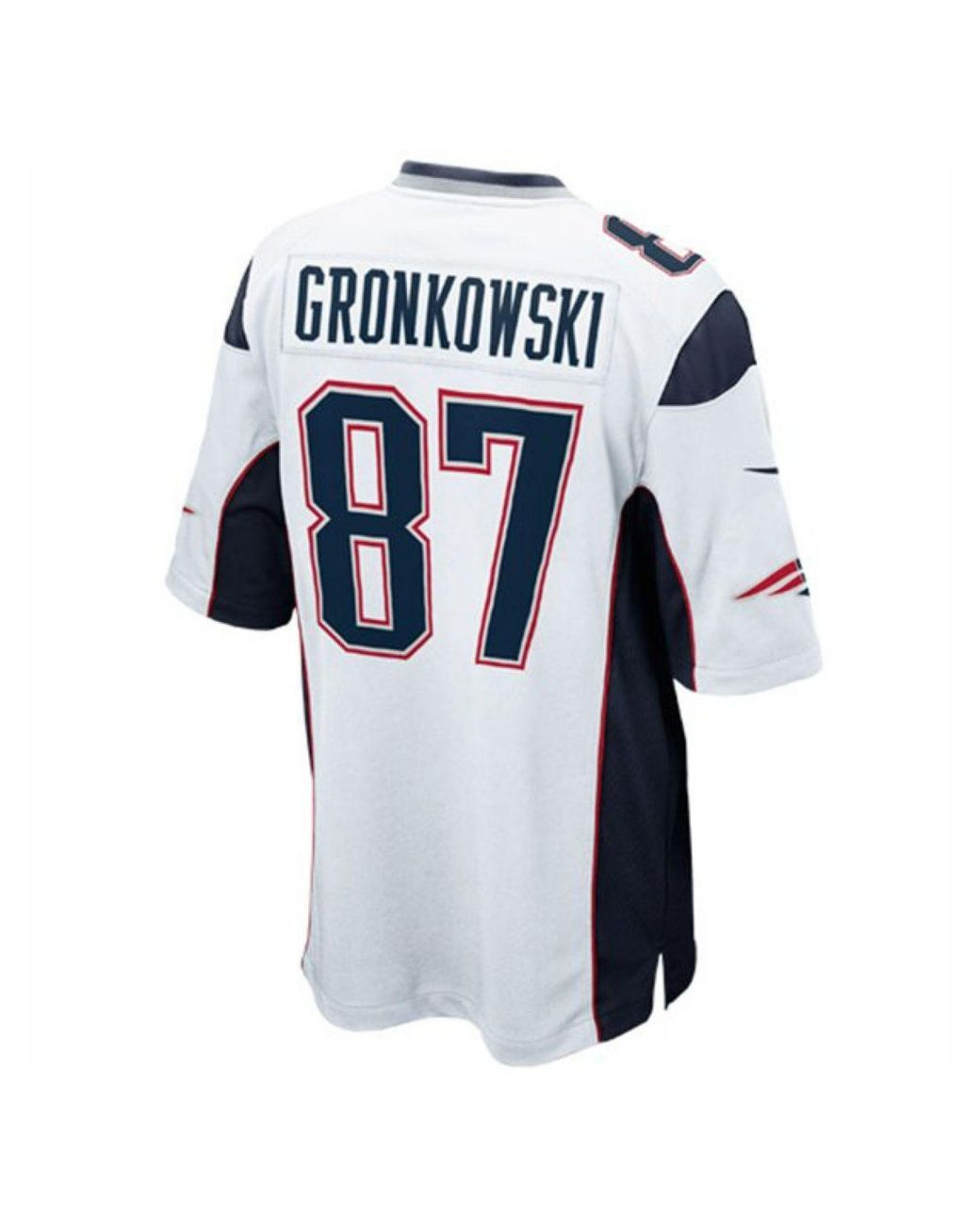 new concept 92eaa e21ce White Men's Rob Gronkowski New England Patriots Game Jersey