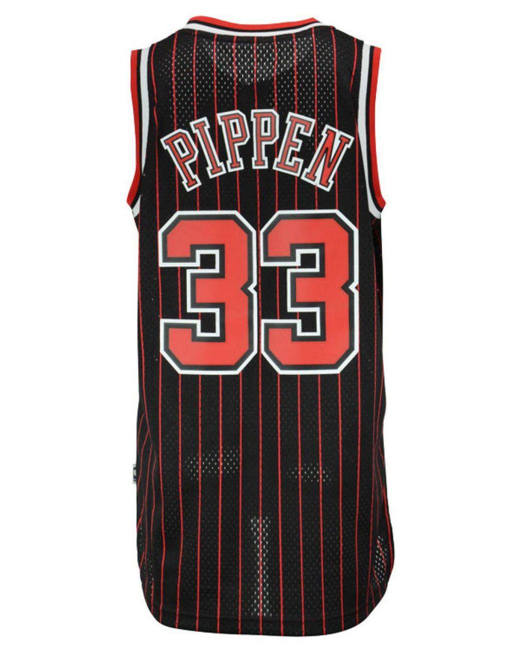 best service 96faa 4a482 Red Men's Scottie Pippen Chicago Bulls Swingman Jersey