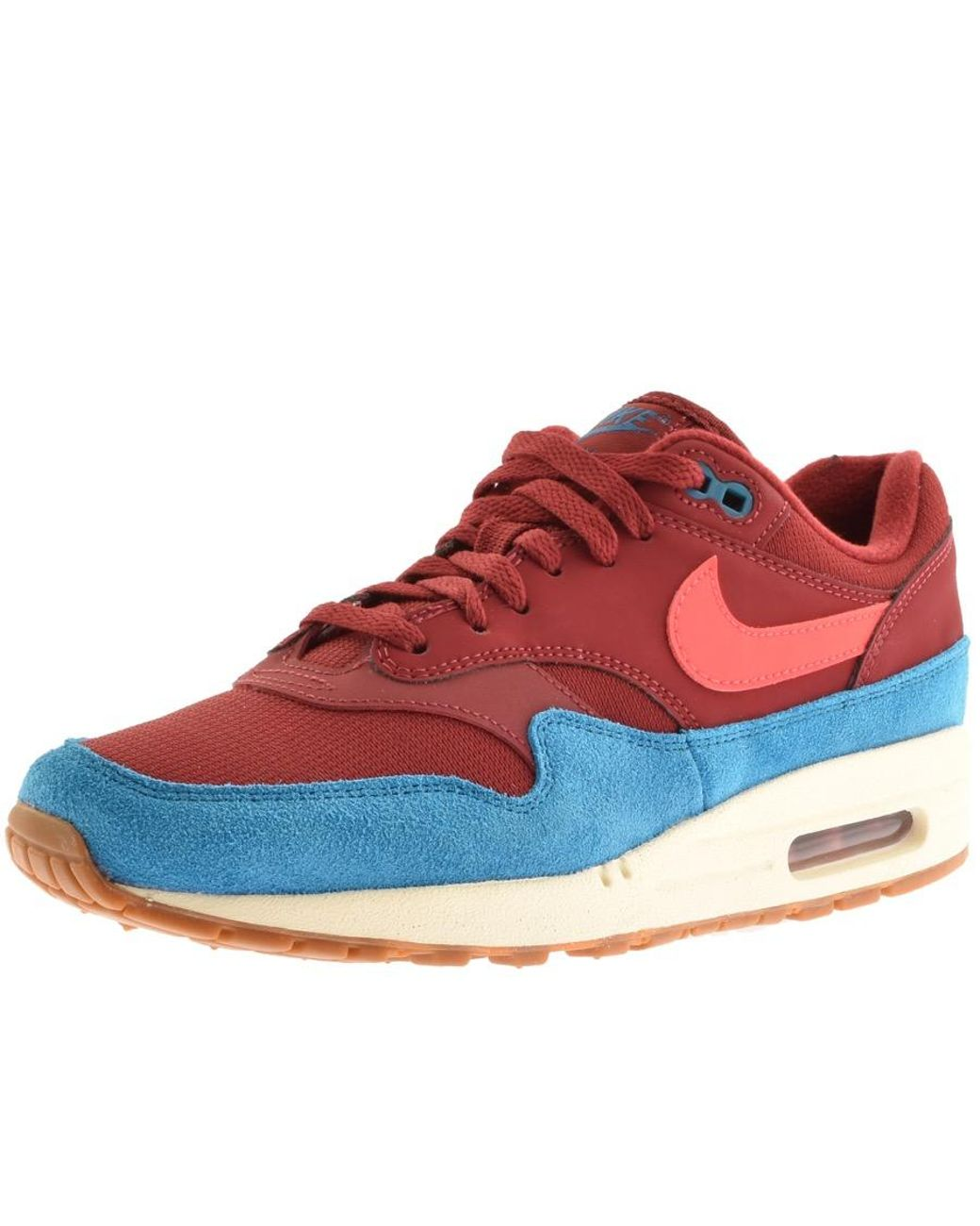 online store 4a052 fa405 Nike. Men s Air Max 1 Trainers Burgundy