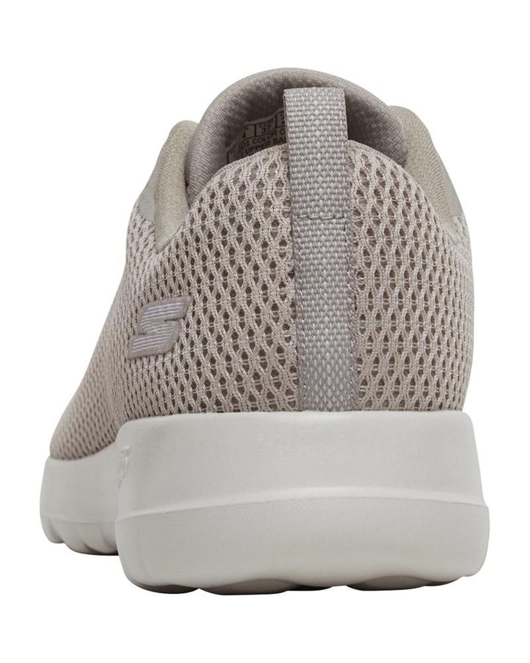6297ad71e27c0 Skechers Gowalk Joy Paradise Trainers Taupe/white in Natural - Lyst
