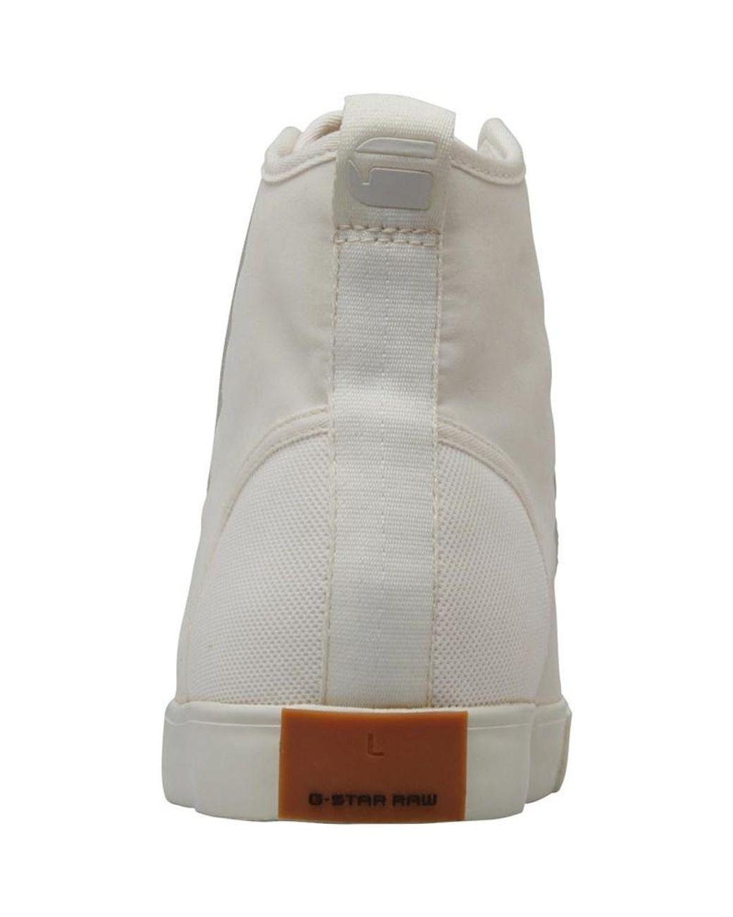 G Star Scuba Iii Mid Sneaker High Herren Blau Schuhe