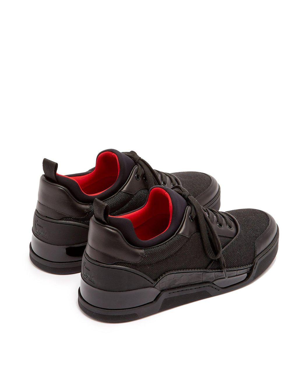 newest d4590 7cb3f Men's Black Aurelien Low Top Leather Sneakers