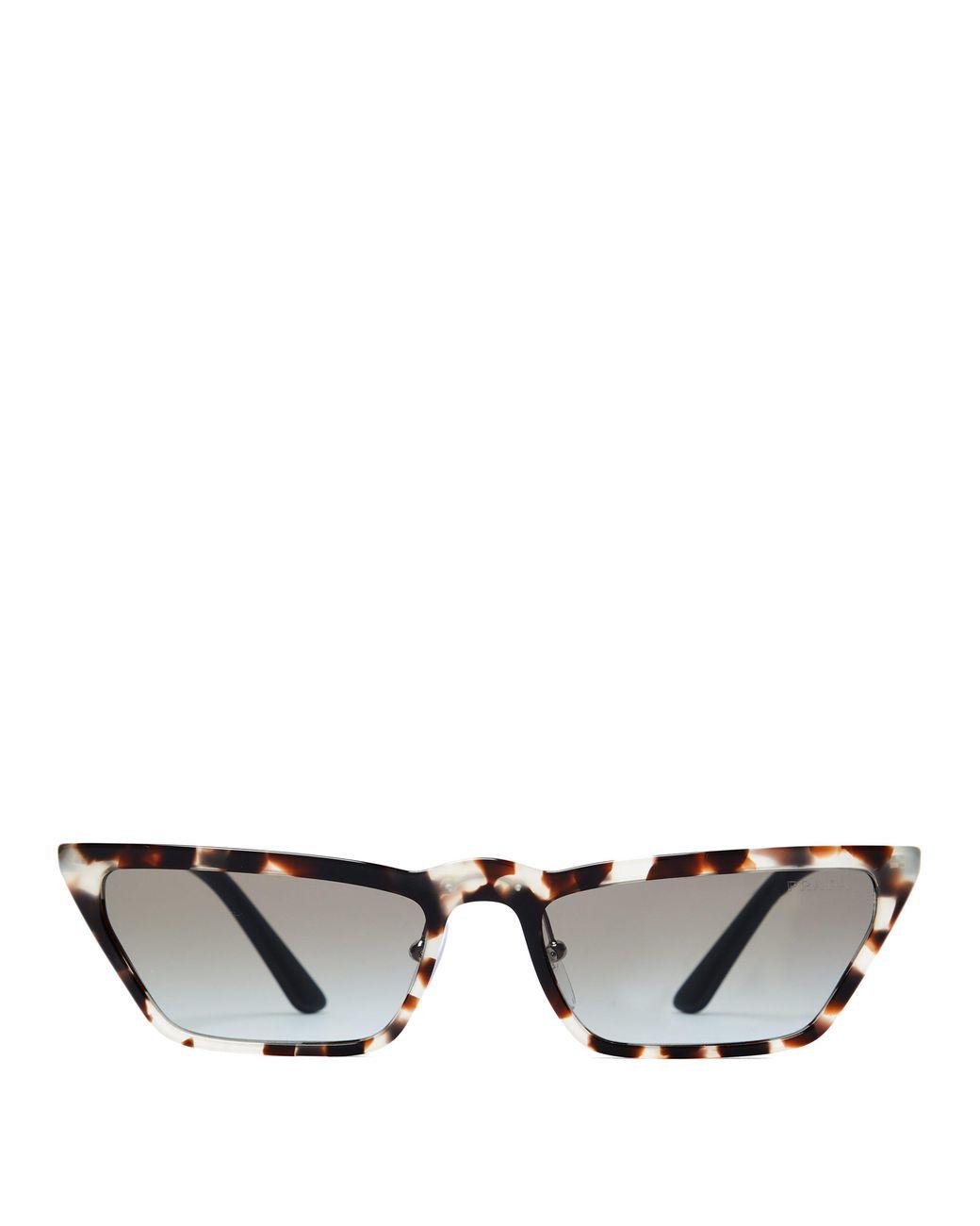 3342490f8a4 Prada Ultravox Rectangular Acetate Sunglasses - Lyst