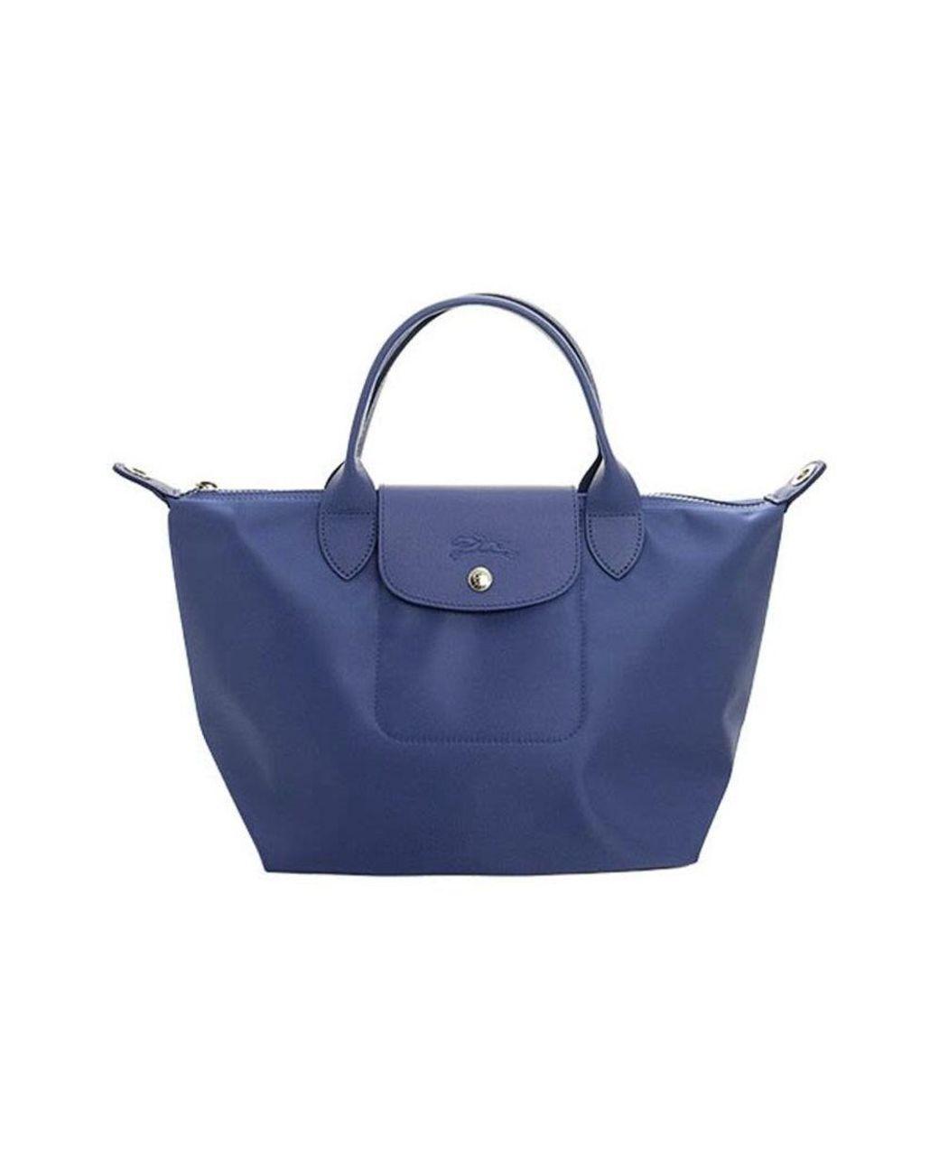 LE Pliage NÉO TOP Handle BAG Longchamp en coloris Bleu - Lyst